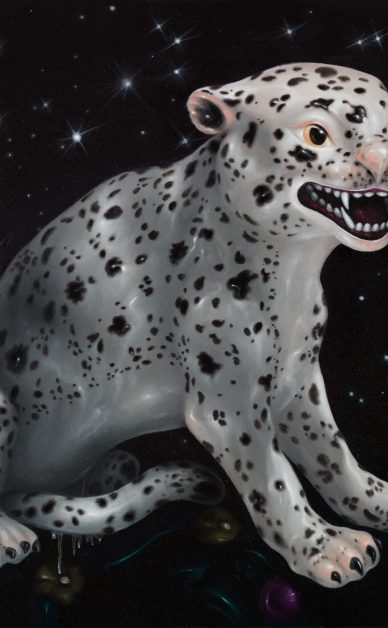 豹子 油彩畫布 117x91cm 2016